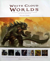 White Cloud Worlds Volume 3: An Anthology of Science Fiction and Fantasy Artwork from Aotearoa New Zealand (Signed)